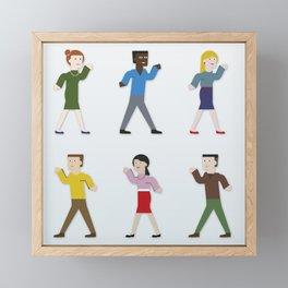 Dance like an egyptian Framed Mini Art Print