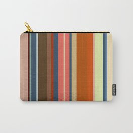 Minimal Art Retro Lines 13B Carry-All Pouch