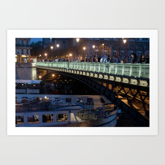 Paris by Night III Art Print