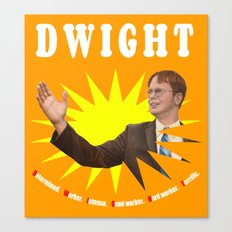 Dwight Schrute  |  The Office Canvas Print