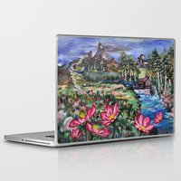 serenity Laptop & iPad Skins featuring Serenity by Art of Leki