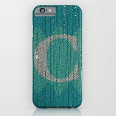 Winter clothes. Letter C. iPhone 6s Slim Case
