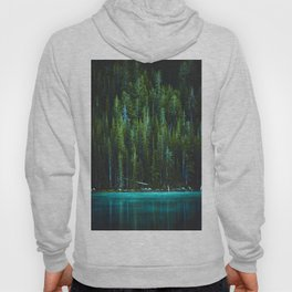 Evergreen Forest on Water (Color) Hoody