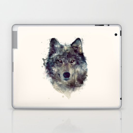 Wolf // Persevere  Laptop & iPad Skin