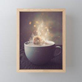 Snuggery Framed Mini Art Print