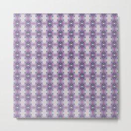 Arabidopsis flower stem microscopy pattern pink Metal Print