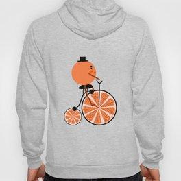 Orange ride Hoody