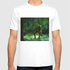 THE SWAMP Mens Fitted Tee MEDIUM White