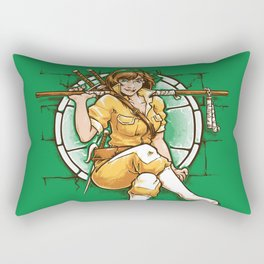 The 5th Turtle Rectangular Pillow