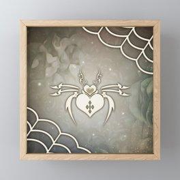 Awesome fantasy spider Framed Mini Art Print