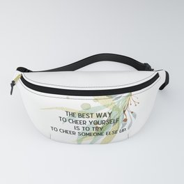 Cheer up - Mark Twain Collection Fanny Pack