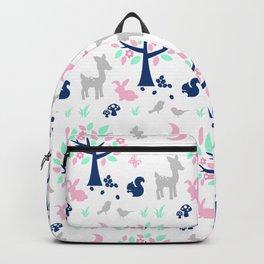 Woodland Animals Nursery Backpack