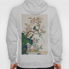 Minhwa: Birds and Royal azalea (Korean traditional/folk art) Hoody