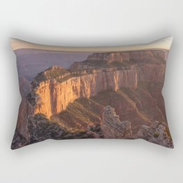 Wotan's Throne ~ Grand Canyon Rectangular Pillow