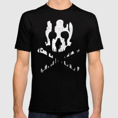 Skullmelt 2X-LARGE Black Mens Fitted Tee