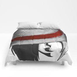 Fedora Girl Comforters