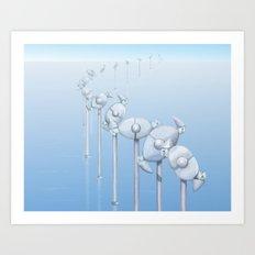 The Alternative Wind Farm Art Print