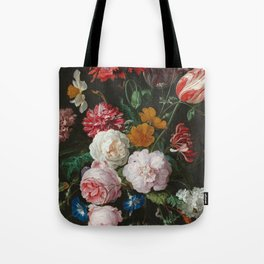 Still Life with Flowers by Jan Davidsz. de Heem Tote Bag