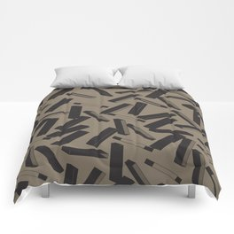 3D X Pattern Comforters