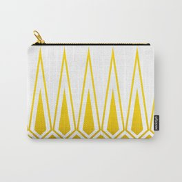 Mid Century Muse: Norms in Mustard Carry-All Pouch