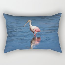 Roseate Spoonbill at Ding V Rectangular Pillow