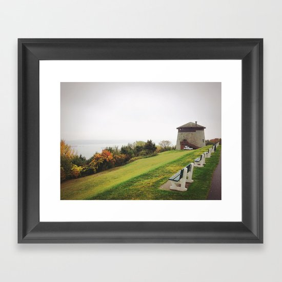 Plains of Abraham Framed Art Print
