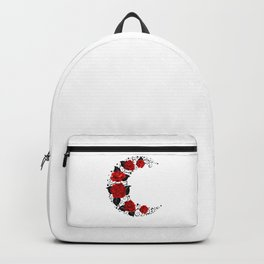 Moon of Red Roses Backpack