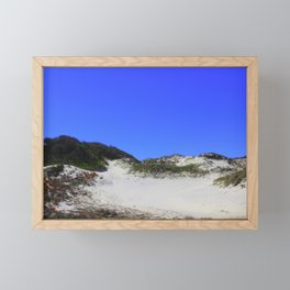 NaNa Sand Dune Framed Mini Art Print