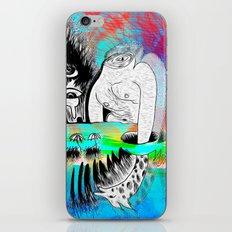 Giraffe Eyes in the Magnetic Field iPhone & iPod Skin