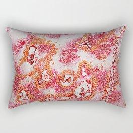 Pink Land Rectangular Pillow