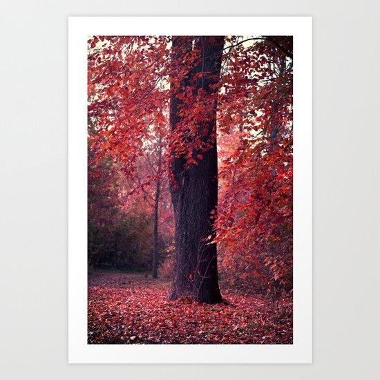 arbre Art Print