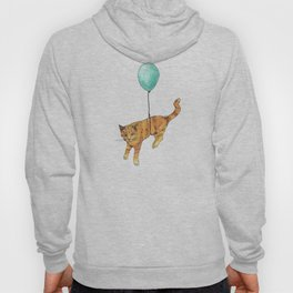 The cat and the baloon Hoody