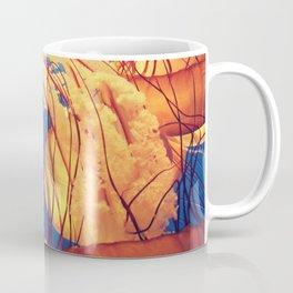 Blue and Yellow Coffee Mug
