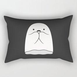 The Horror / Scared Ghost Rectangular Pillow