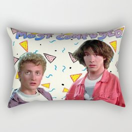 Most Confused Rectangular Pillow