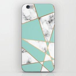 Marble Geometry 055 iPhone Skin