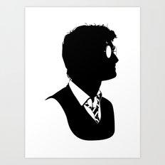 Harry - Standard Silhouette Art Print