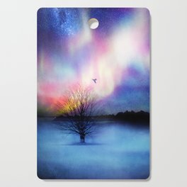Aurora Boreal Cutting Board