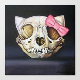 Goodbye Kitty Canvas Print