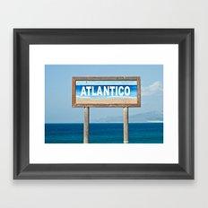 Atlantico Framed Art Print