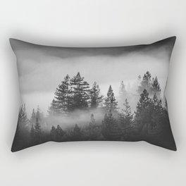 Forest of Fog Rectangular Pillow