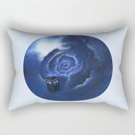 Through Time and Space Rectangular Pillow