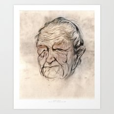 Andrew Wyeth Portrait Art Print