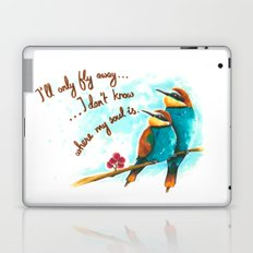 Lost birds Laptop & iPad Skin