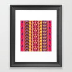Palmette Framed Art Print