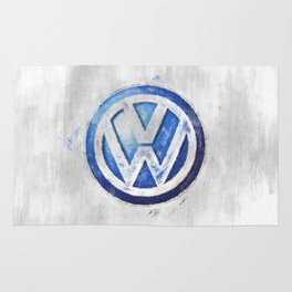 Das Auto sketch Rug