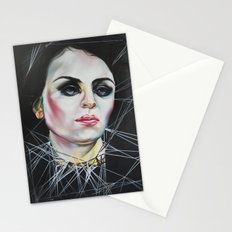 Glassy eyes Stationery Cards