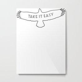 The Eagles - Take it easy Metal Print