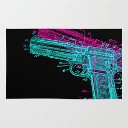 Gun Diagram Rug
