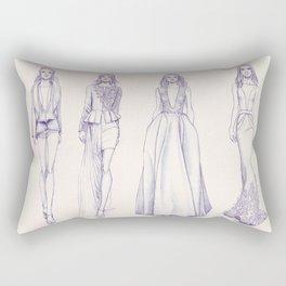 Tony Ward Couture AW2014 Rectangular Pillow